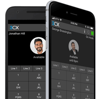 Gehostete Telefonanlage - Apps