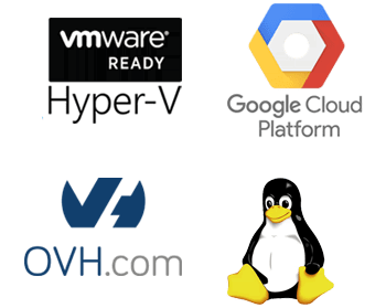 Install your PBX on Linux/Windows, On premise or in Cloud