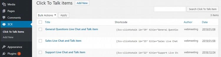 Holen Sie sich das neue 3CX Live Chat and Talk Plugin für WordPress