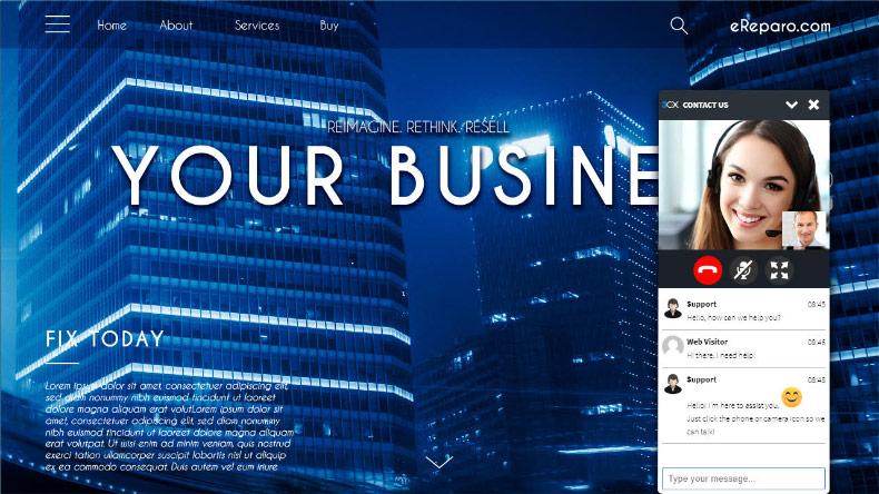 Chatten Sie mit Ihren Website-Besuchern per 3CX Live Chat and Talk Plugin für WordPress
