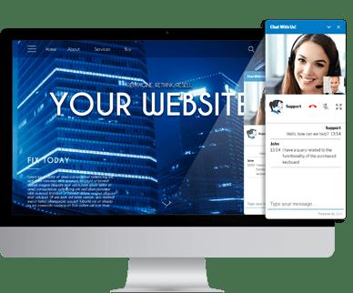 Mit 3CX Live Chat & Talk gewinnen Sie Ihre Website-Besucher als neue Kunden