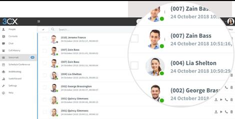Richten Sie Ihre Mailbox-Einstellungen per Telefon oder Webclient ein