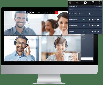 Contact Center Funktionen - Webkonferenz