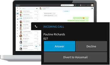 Mit dem Live Chat & Talk Plugin lassen sich Sprach- oder Videoanrufe direkt aus dem Chat heraus starten