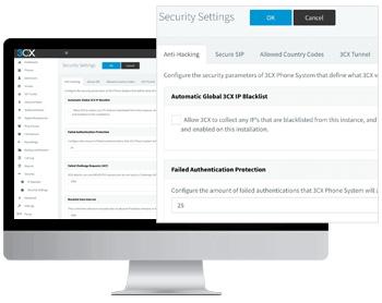Volle Kontrolle und Sicherheit Ihrer dedizierten Software-Telefonanlage