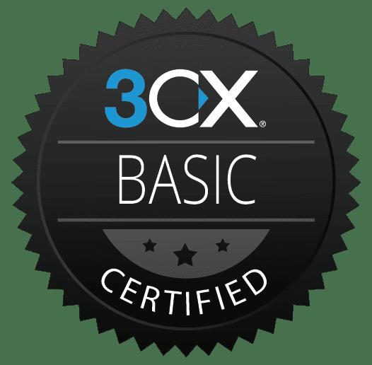 Ottieni la Certificazioni di Base 3CX