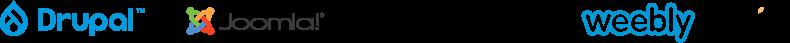 I loghi dei CRM supportati