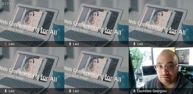 Applicazione videoconferenza per Android e iOS