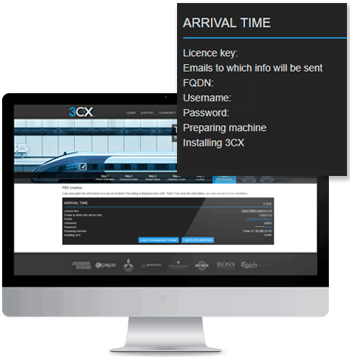Controle seu sistema de telefone - PBX Express