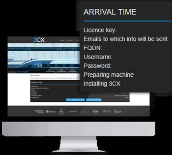 Configure e instale o 3CX automaticamente com o PBX Express