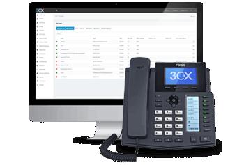 Custos de telefonia e viagem reduzidos com telefonia IP