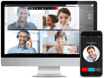 Sistema Telefônico para Pequenas Empresas - 3CX VoIP clientes para Android e iOS