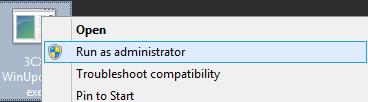 Actualizar v15.5 al Update 6 - Ejecutar como Administrador