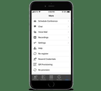 Clientes Android / iOS fáciles de usar y administrar
