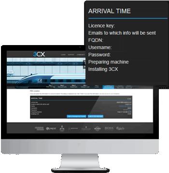 Configure e implemente 3CX con el PBX Express