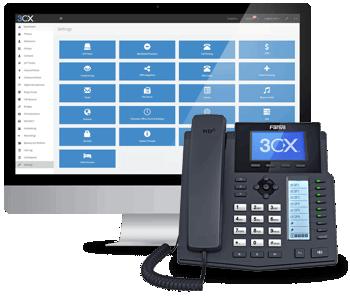 Controle las comunicaciones de su empresa con el PBX gratis de 3CX