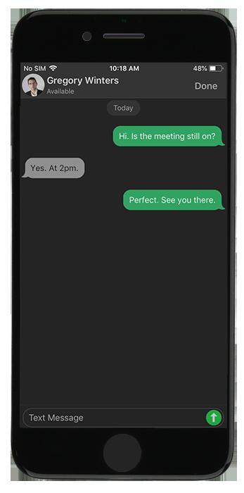 La Funcionalidad de Chat Mejorada - iOS