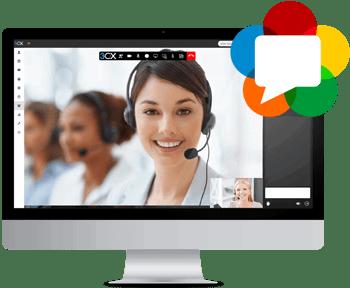Administre e instale fácilmente su PABX con Videoconferencia integrada