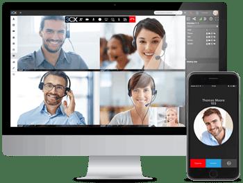 Sistema Telefónico para PyMEs de 3CX con funcionalidades integradas de Videoconferencia Web / Webmeeting