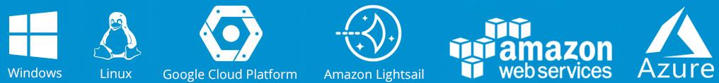 Su Sistema Telefónico Profesional en Windows, Linux, Google Cloud, Amazon, Azure