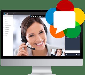 Videoconferencia web integrada basada en WebRTC de 3CX