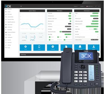 Standard téléphonique IP 3CX - en local ou sur le cloud