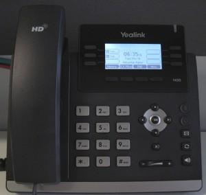 Appel en conférence Yealink T42/T41