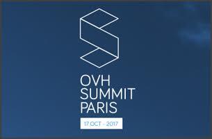 Venez nous rencontrer au Summit OVH 2017