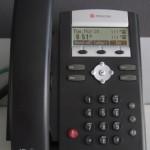 Passer un appel avec un Polycom Soundpoint IP 335