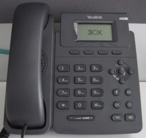 Passer un appel avec un téléphone Yealink T19P