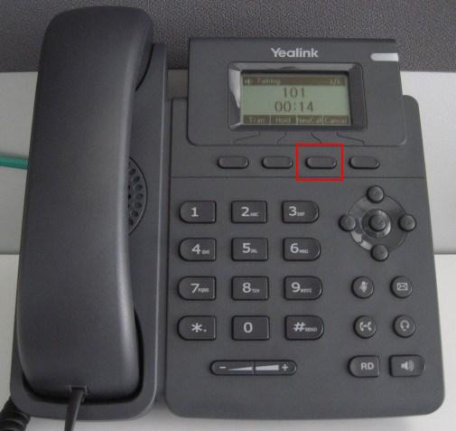 Conférence Yealink T19P - répondre à l'appel