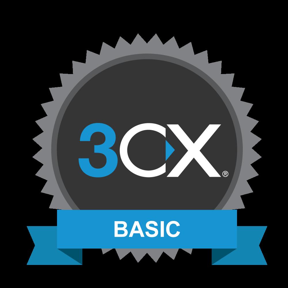 Certification 3CX basique