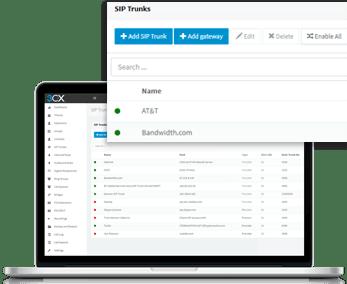 déployez votre PABX Cloud 3CX avec les opérateurs de trunks SIP les plus communs