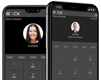 Fonctionnalités de Communications Unifiées avancées accessibles gratuitement depuis un smartphone