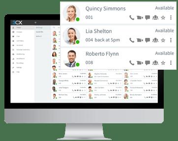 Visualisez le statut des collègues avec les Communications Unifiées de 3CX