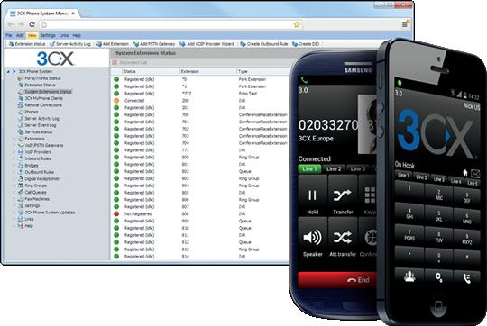 3CX libère le PBX des contraintes du bureau - 3CX Phone System 12
