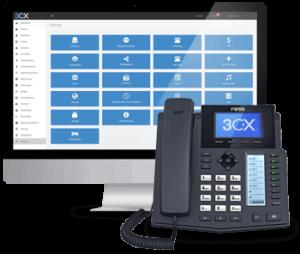 Contrôlez vos communications d'entreprise avec le standard téléphonique virtuel gratuit de 3CX