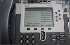 Passer un appel avec un téléphone Cisco 7940/7941/7960/7961