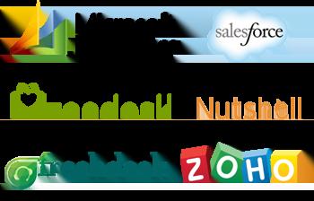 Интегрируйте 3CX Pro и CRM-системы Amo, Bitrix24, ConnectWise, EveryoneAPI, Exact Online, Freshdesk, Freshsales, Microsoft Dynamics 365, Nutshell, Salesforce, Vtiger, Zendesk, Zoho