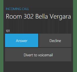 Всегда известно кто звонит
