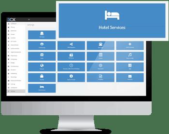 Гостиничный модуль полностью интегрирован в редакции Pro и Enterprise.