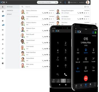 Приложение 3CX для iOS и Android