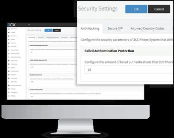безопасность виртуальной АТС 3CX