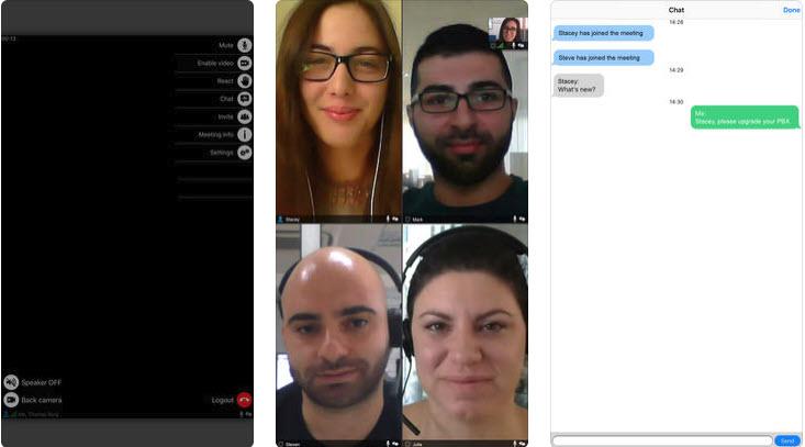 Использование видеоконференций на смартфонах