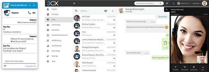 Кастомизация виджета 3CX Live Chat and Talk