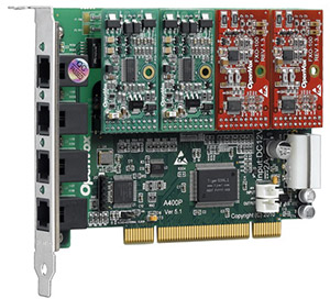 fxs fxo pci interface card