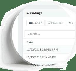 voice recordings