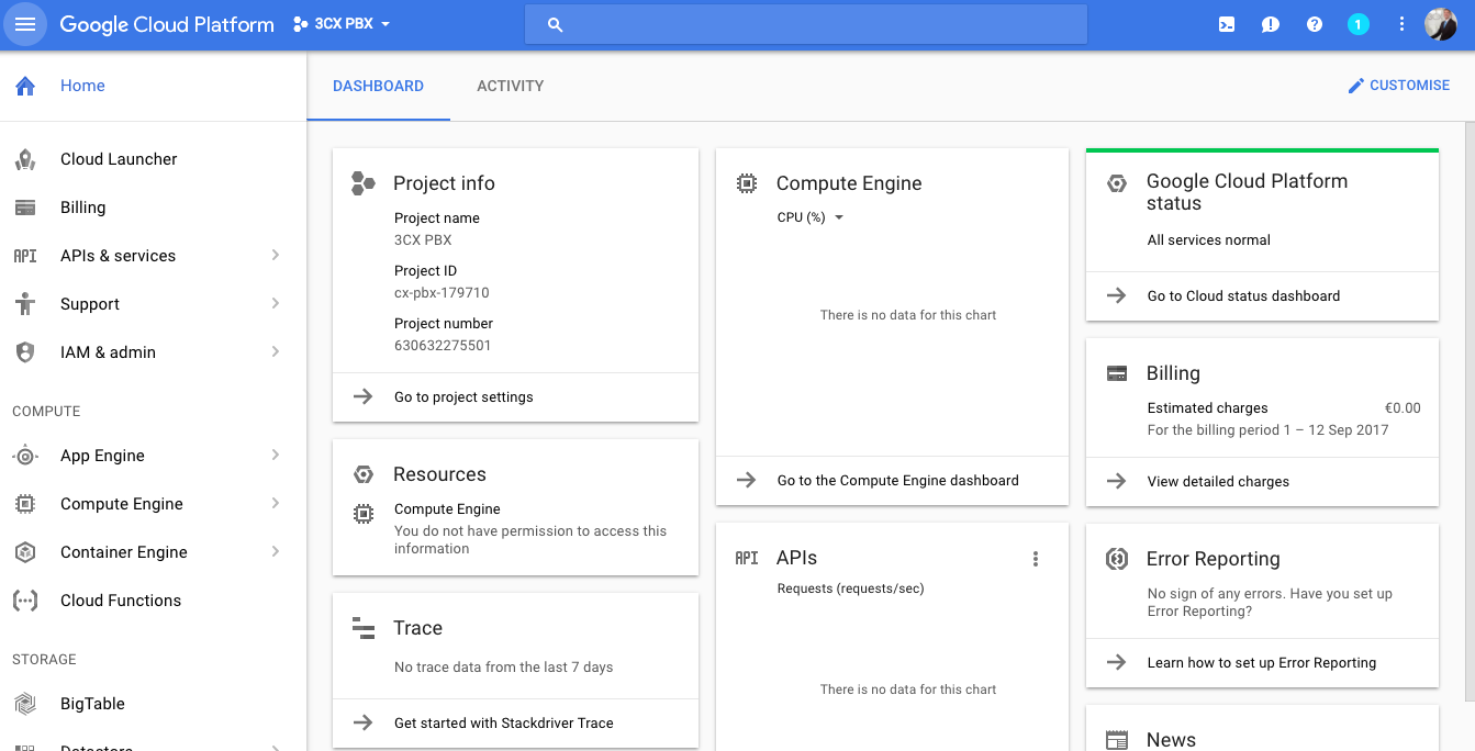 Host Your Pbx On Google Cloud Free For One Year