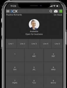 3CX app voor android en IOS