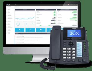 Neem de controle over uw IP-telefooncentrale - 3CX